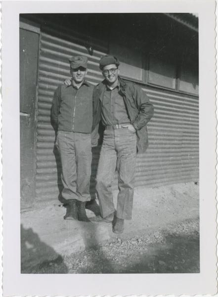 Two marines photograph