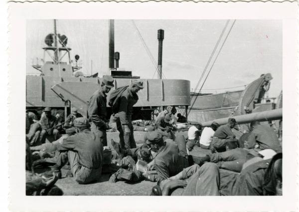 Marines returning home from Korea