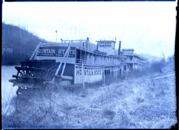 Temple of Amusement and Mountain State boats photograph