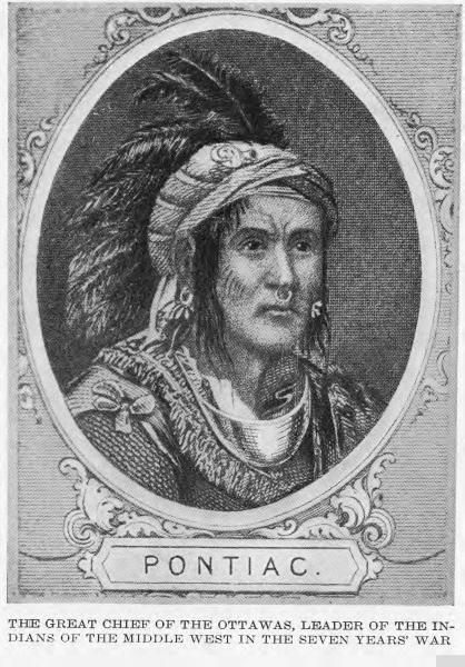 Chief Pontiac portrait