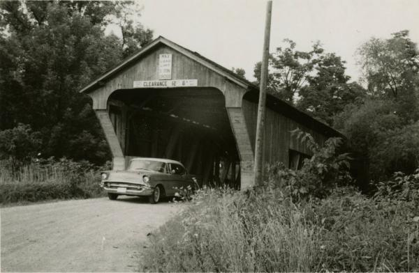 Covered Bridge in Preble County, Ohio