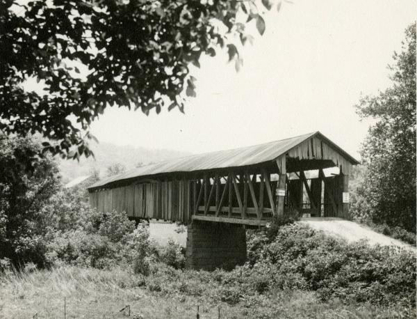 Covered Bridge in Monroe County, Ohio