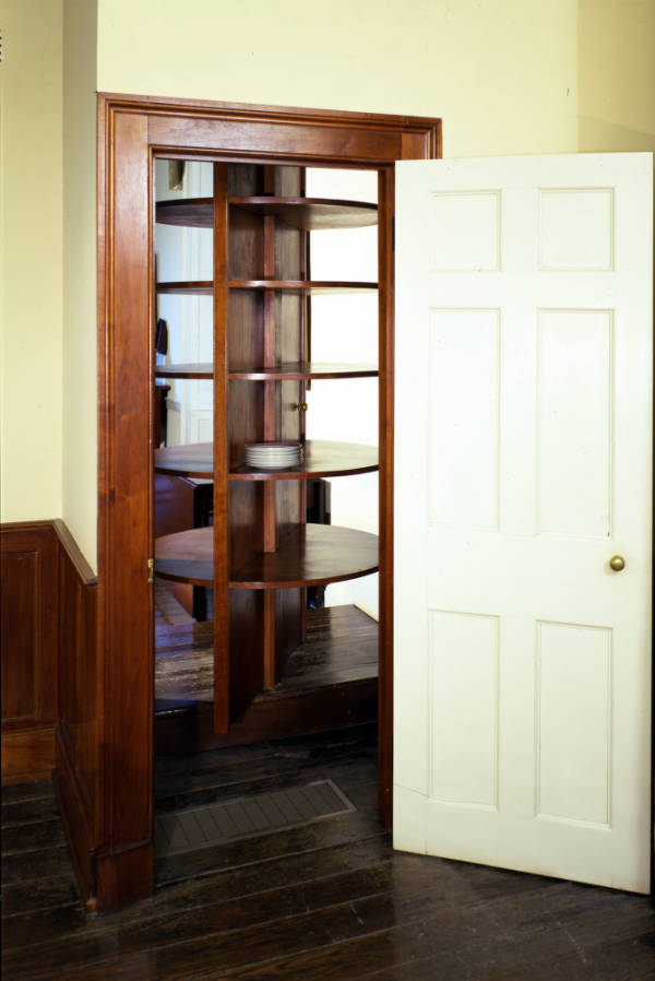 Dumbwaiter in Adena House