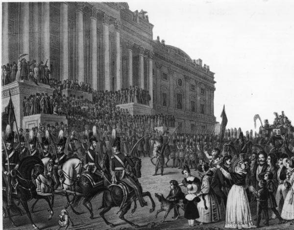 William H. Harrison's inauguration