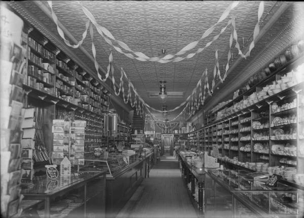 Kinley's Department Store interior photograph