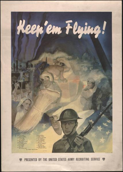 United States Army recruiting poster