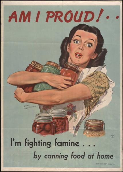 Fighting famine at home