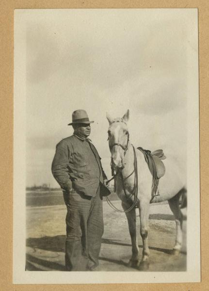 Old Buck and Sunny Jim photograph