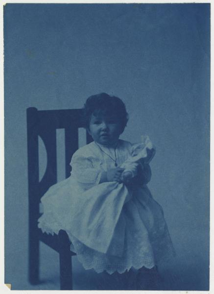 Ruth Weinman Herndon as a young girl