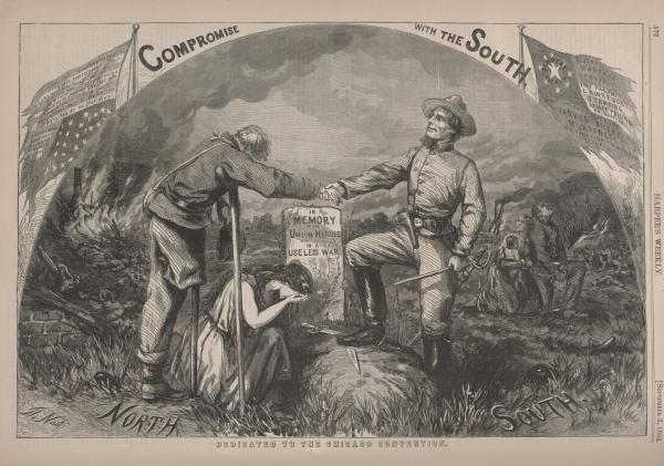 'Compromise with the South' illustration