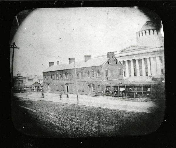 Ohio Statehouse early photograph