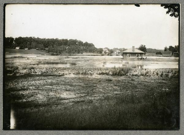 Fish hatchery in Akron photograph