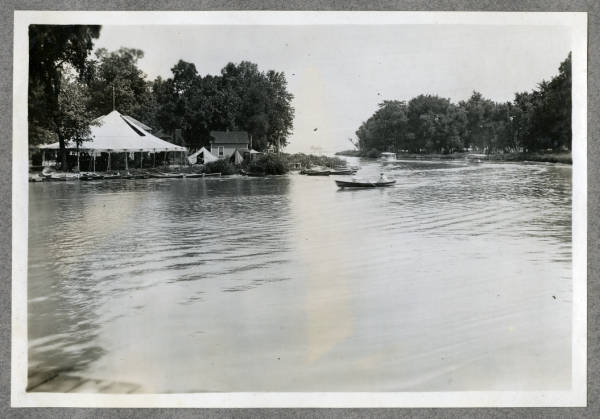 Russell's Point Harbor photograph