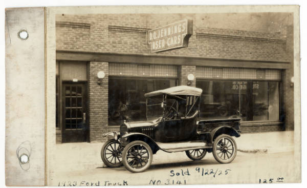 Ford truck photograph