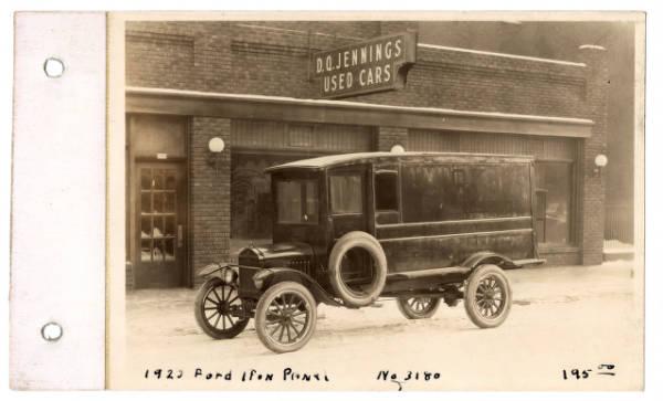Ford automobile photograph