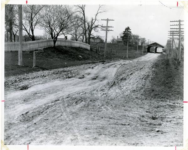 National Road in Zanesville photograph