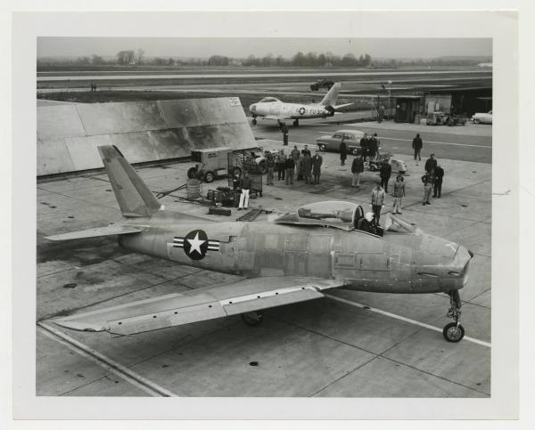 F-86 Sabre ready for test flight