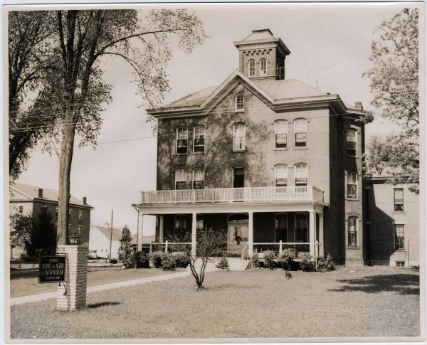Ohio Home for the Aged and Infirm Deaf photograph