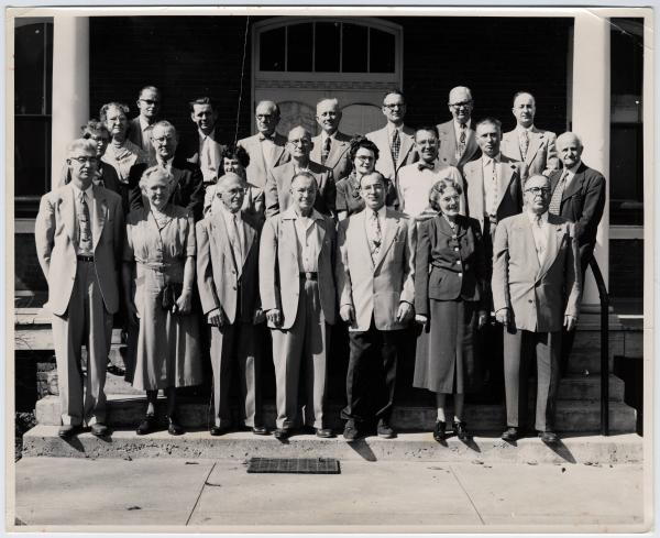 Ohio Home for the Aged and Infirm Deaf Board of Managers photograph