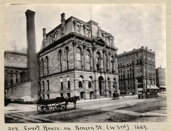 Seneca Street Courthouse in Cleveland