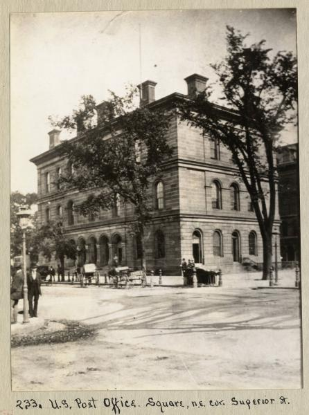 Cleveland post office photograph