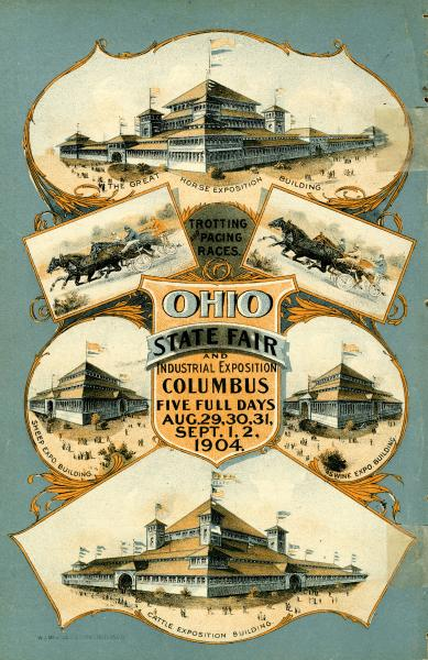 Ohio State Fair booklet back cover