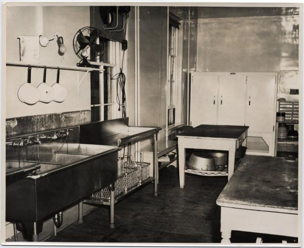 Ohio Home for Aged and Infirm Deaf kitchen