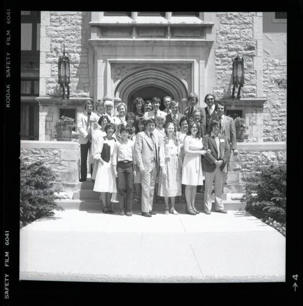 Group photograph at Governor's Mansion