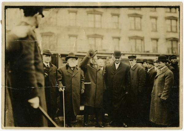 Theodore Roosevelt in Columbus photograph
