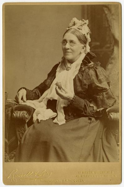 Catherine C. Hopley portrait with turtle