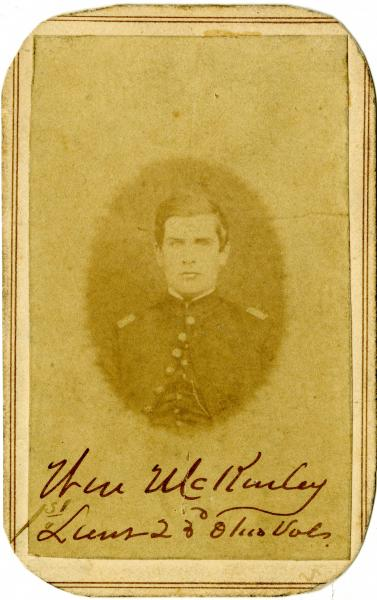 William McKinley Civil War portrait