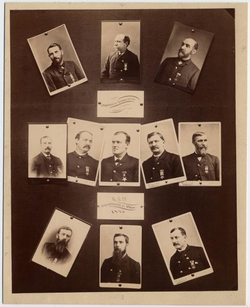Ohio G.A.R. Department commanders and staff