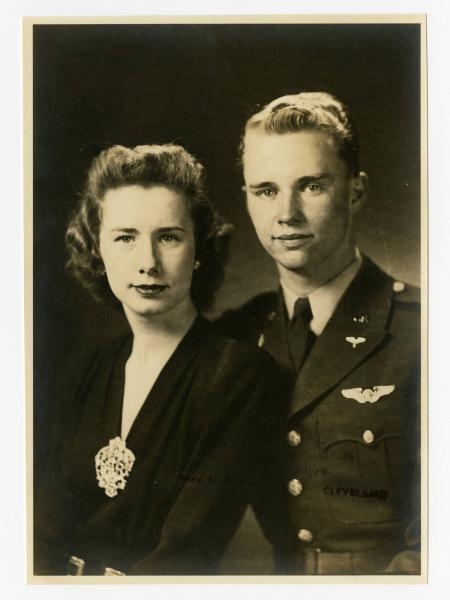 C. Walder Parke and wife photograph