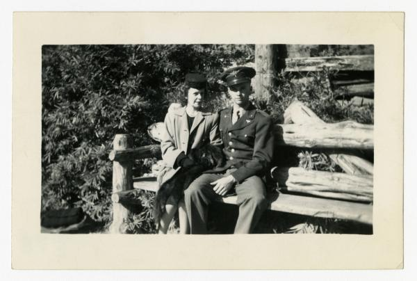 C. Walder Parke and mother photograph