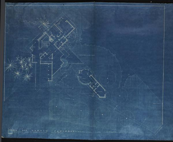 Rush Creek Village residence blueprints