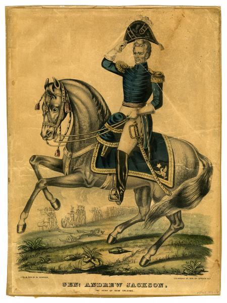 Andrew Jackson lithograph