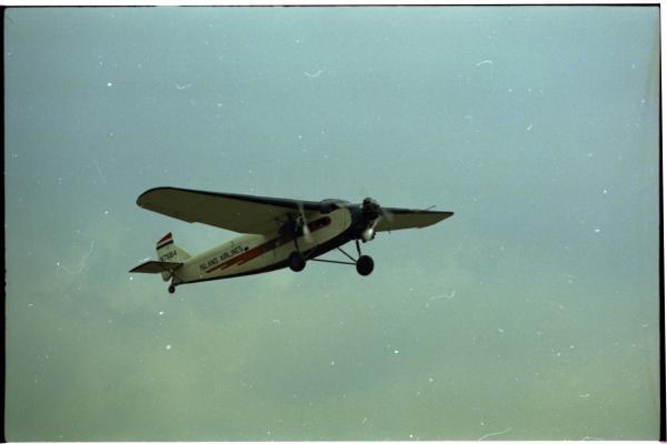 Ford Tri-motor airplane photograph
