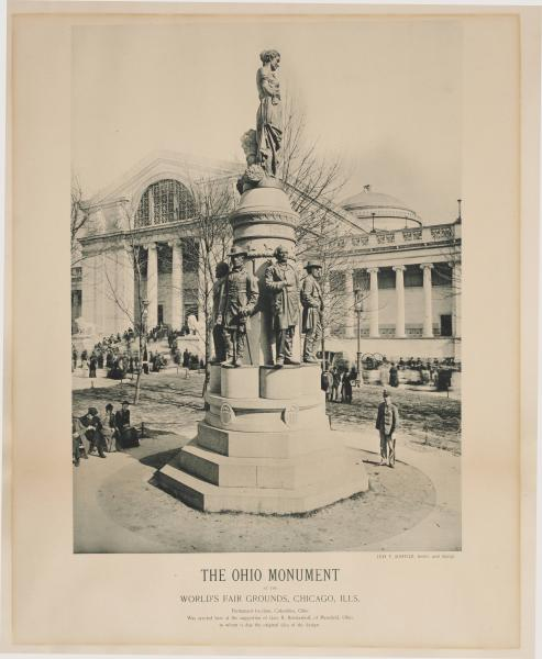 'These Are My Jewels' monument at Chicago World's Fair