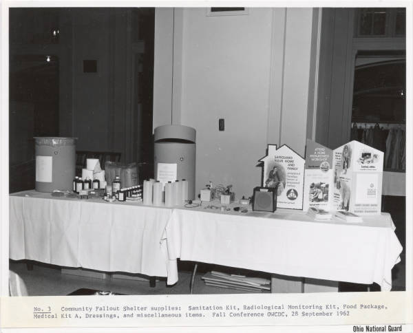 Fallout Shelter Display photographs