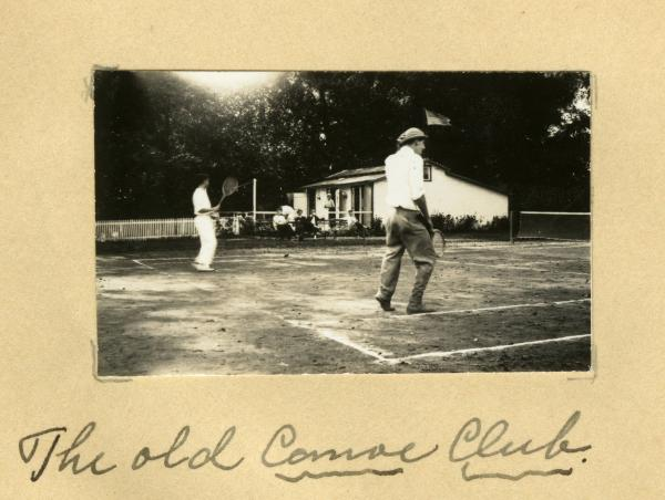 Canoe Club tennis courts