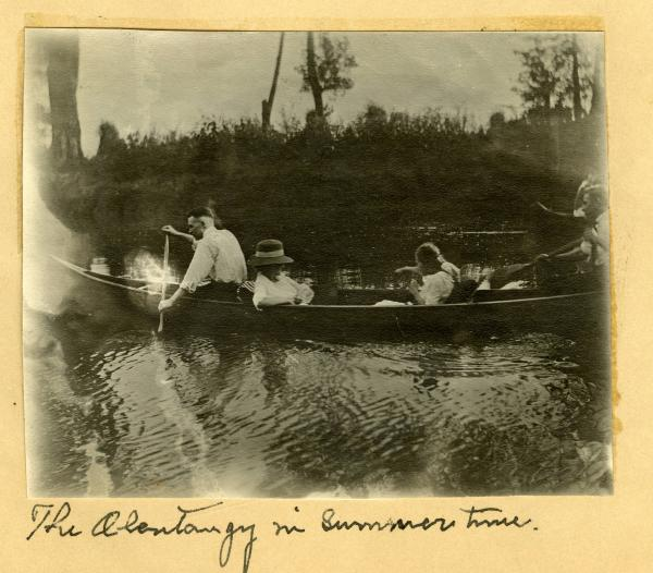 'Olentangy in summertime' photograph