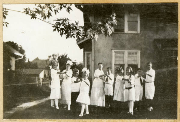 Dancing class at Marshall home