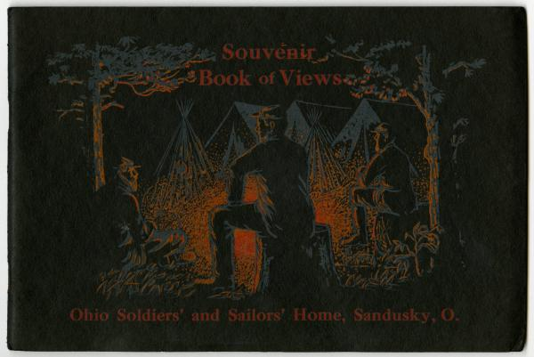Souvenir book of views from the Ohio Soldiers' and Sailors' Home