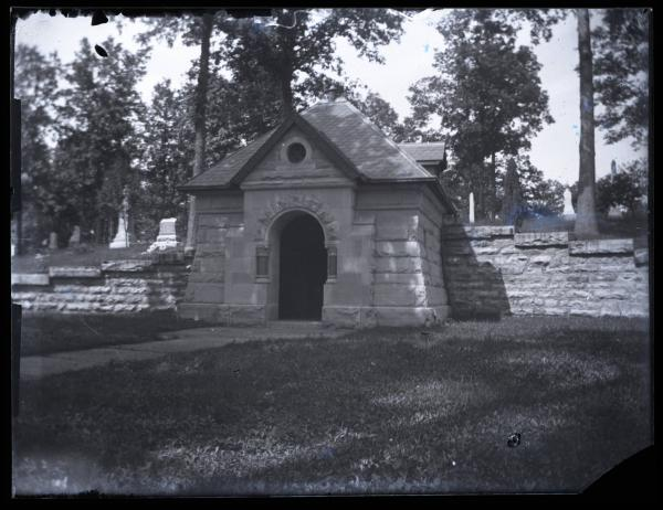 Oak Hill burial vault