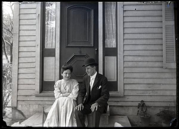 Harry and Villa Kinley photograph