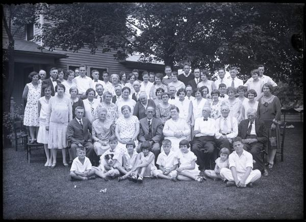 Large outdoor group photograph