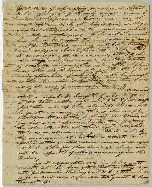 Benjamin Lundy letter, March 31, 1835 (Part II)