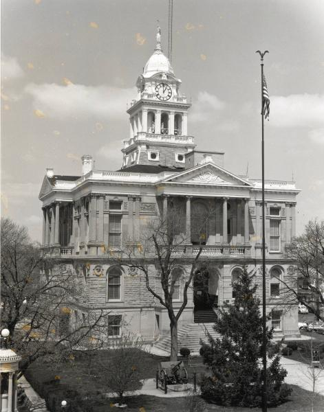 Fayette County Courthouse photographs