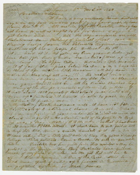 """Abolitionist letter to """"Brothers and Sisters"""""""