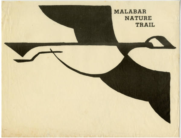 Malabar Farm nature trail sign